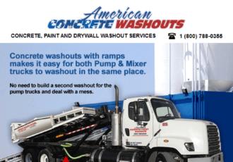 American Concrete Washout | Concrete Washout Provider