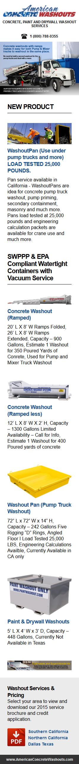 American Concrete Washout   Concrete Washout Provider